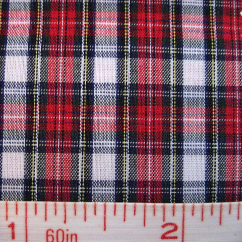 Pima Cotton Mini Tartans Fabric 20 Yard Bolt 5569