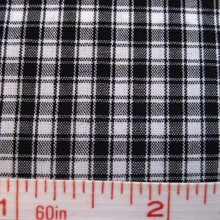 Pima Cotton Mini Tartans Fabric 20 Yard Bolt 5570