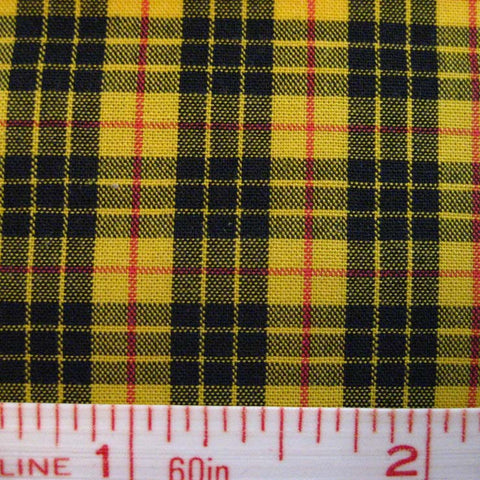 Pima Cotton Mini Tartans Fabric 20 Yard Bolt 5572