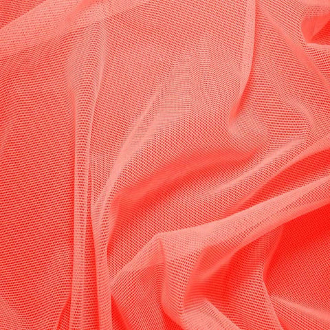Nylon/Spandex Sheer Stretch Mesh 57 Coral