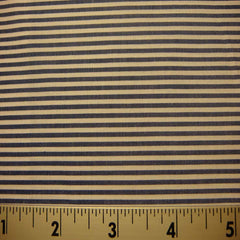 100% Cotton Fabric Stripes 57 Y D8460ROY - NY Fashion Center Fabrics