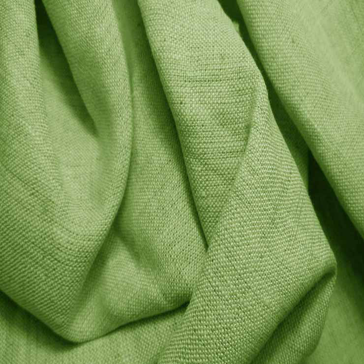 Medium Weight Linen - 6.5-oz 58 Moss Green - NY Fashion Center Fabrics