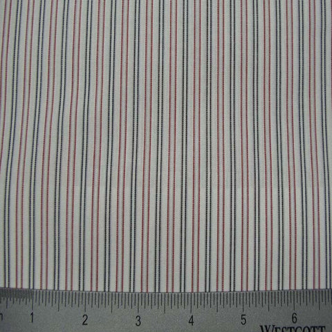 100% Cotton Fabric Stripes Collection #3 59 KO 3117 Y D0815RED