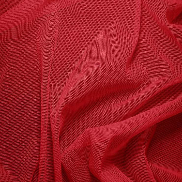 Nylon/Spandex Sheer Stretch Mesh 59 Rasberry