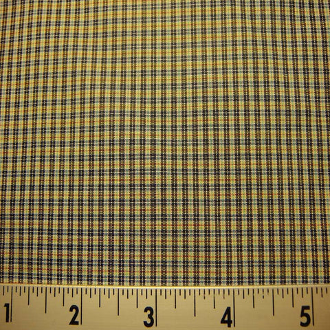 100% Cotton Fabric Checks #7 59 Y D9758G M - NY Fashion Center Fabrics