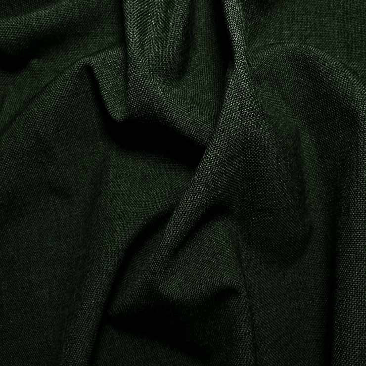 3 Ply Wool/Poly Blend Suiting 590 Bottle Green - NY Fashion Center Fabrics