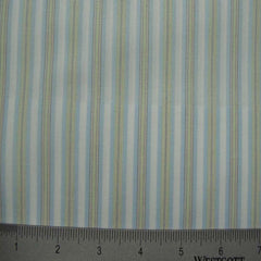 100% Cotton Fabric Stripes Collection #3 62 KO 3120 Y D2651BLU - NY Fashion Center Fabrics