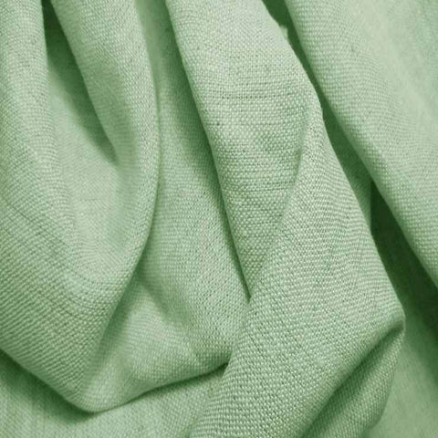 Medium Weight Linen - 6.5-oz 62 Mint Green - NY Fashion Center Fabrics