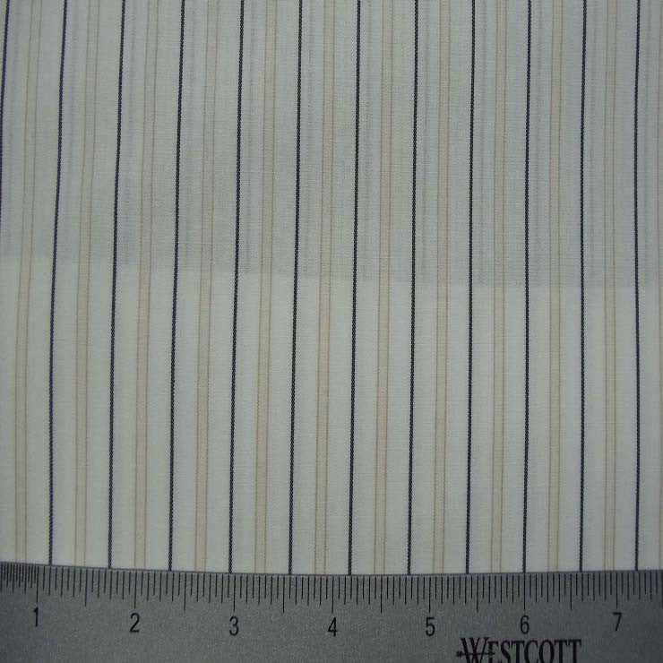 100% Cotton Fabric Stripes Collection #3 63 KO 3121 Y D4520TAN