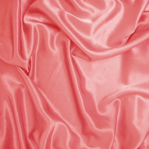 Polyester Crepe Back Satin 66 Salmon