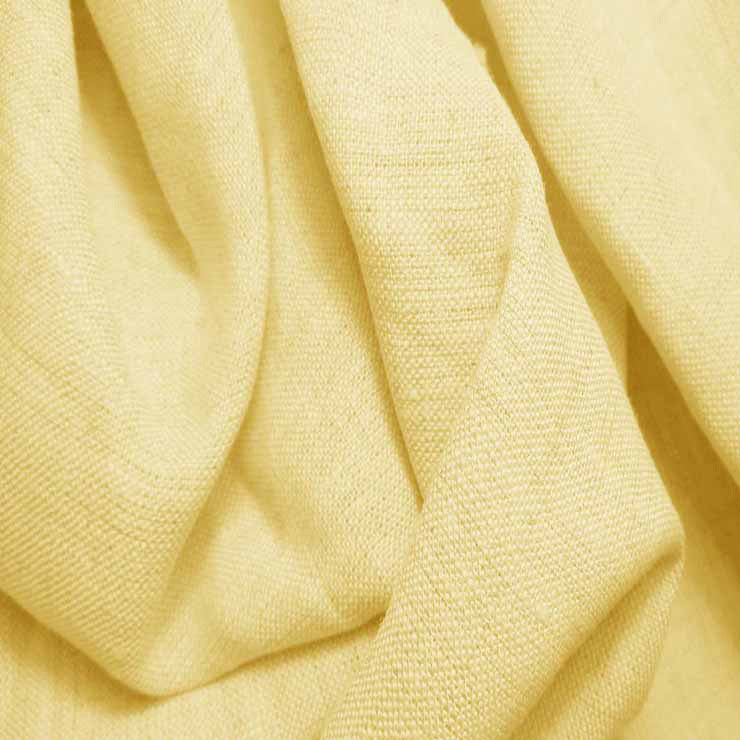 Medium Weight Linen - 6.5-oz 69 Lemon - NY Fashion Center Fabrics
