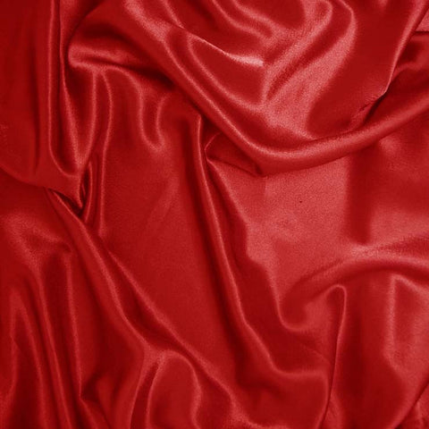Polyester Crepe Back Satin 74 Red