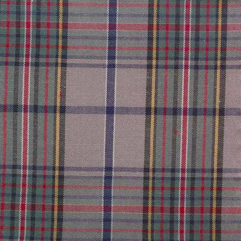 Pima Cotton Tartans Fabric 20 Yard Bolt 75