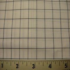 100% Cotton Fabric Checks #7 76 KO 3133 Y D8355NVY - NY Fashion Center Fabrics