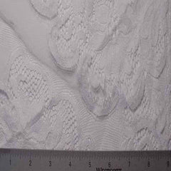 Alencon Lace #63 78 16700 60 White - NY Fashion Center Fabrics