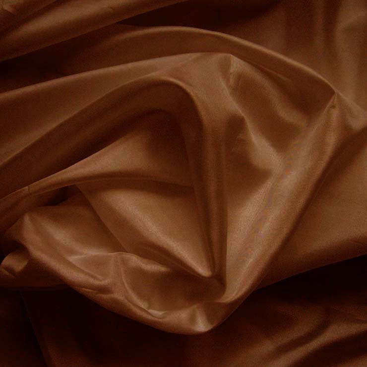 Polyester China Silk 78 Cognac