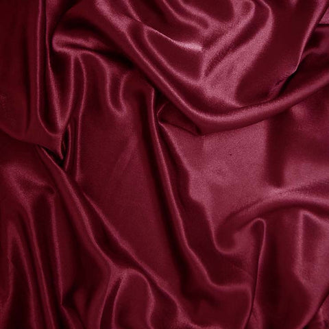 Polyester Crepe Back Satin 78 Rasberry