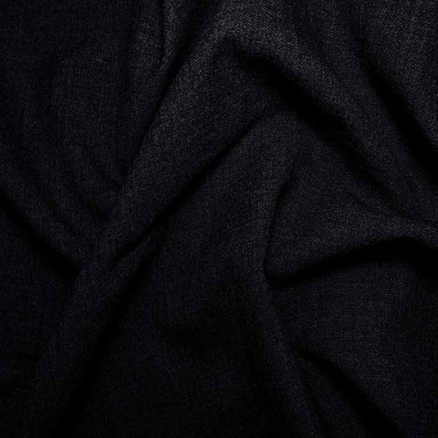 Washable Wool Blend Suiting 788A Navy