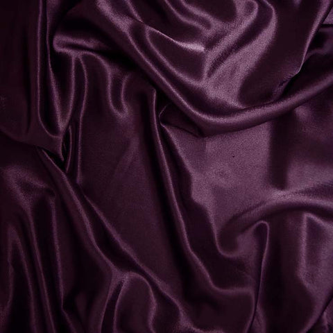 Polyester Crepe Back Satin 79 Plum