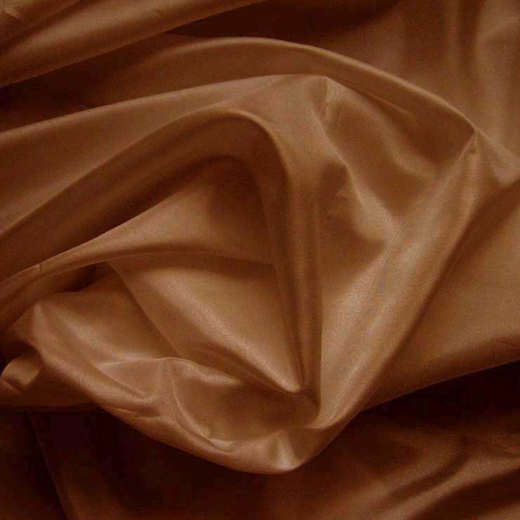 Polyester China Silk 80 Cocoa