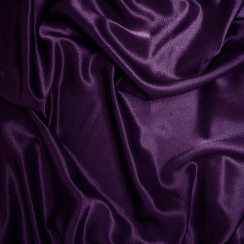 Polyester Crepe Back Satin 81 Purple