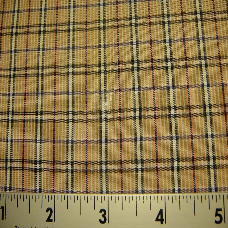 100% Cotton Fabric Checks #8 85 Y D9502MUL - NY Fashion Center Fabrics