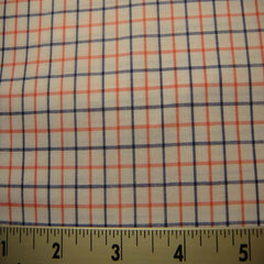 100% Cotton Fabric Checks #7 87 Y D8385PNK - NY Fashion Center Fabrics