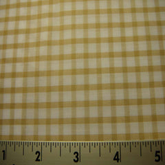 100% Cotton Fabric Checks #7 90 KO 3428 Y D8357KHA - NY Fashion Center Fabrics
