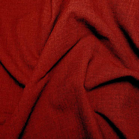 Washable Wool Blend Suiting 904C Red