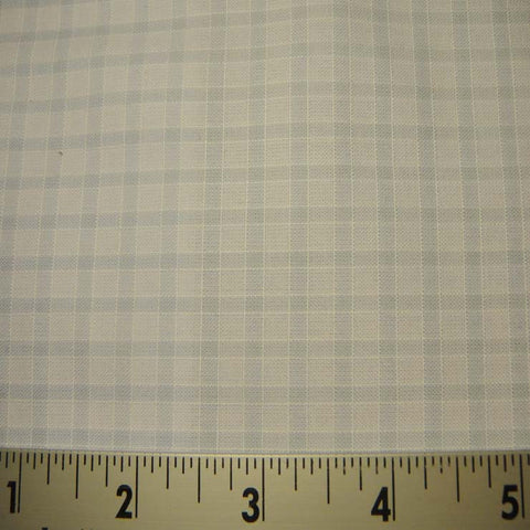 100% Cotton Fabric Checks #7 93 TK1705BLU - NY Fashion Center Fabrics