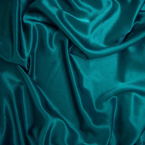 Polyester Crepe Back Satin 94 Deep Turquoise