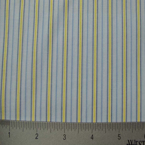 100% Cotton Fabric Stripes Collection #5 94 KO 3211 Y D4526 R M - NY Fashion Center Fabrics