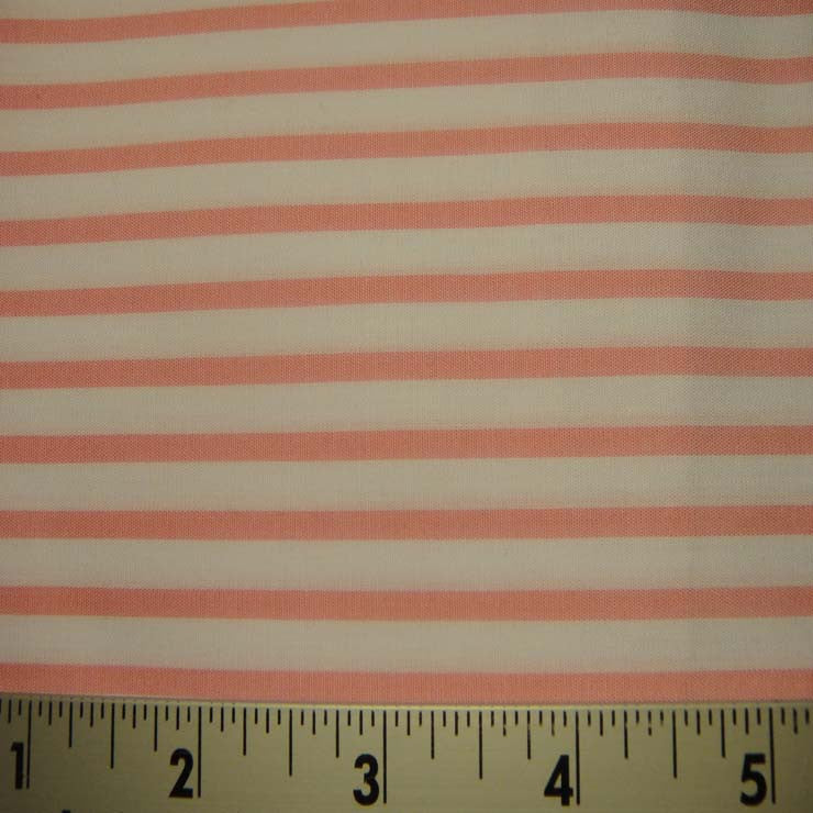 100% Cotton Fabric Stripes 94 KO 3426 Y D9986PNK - NY Fashion Center Fabrics