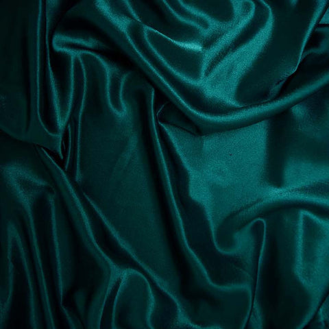 Polyester Crepe Back Satin 95 Teal