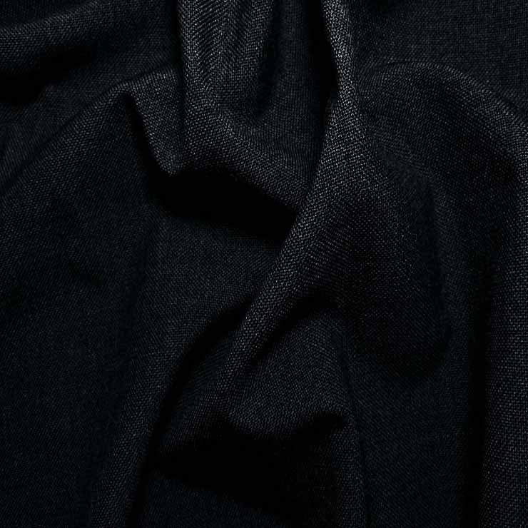3 Ply Wool/Poly Blend Suiting 96 Navy - NY Fashion Center Fabrics