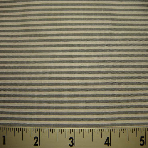 100% Cotton Fabric Stripes 97 KO 3416 Y D8460GRY - NY Fashion Center Fabrics