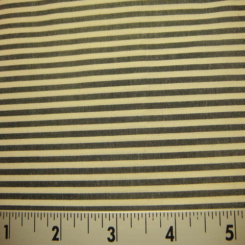 100% Cotton Fabric Stripes 98 KO 3415 Y D8432B C - NY Fashion Center Fabrics