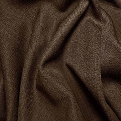 Wool Elastique Blend Fabric 983 Brown