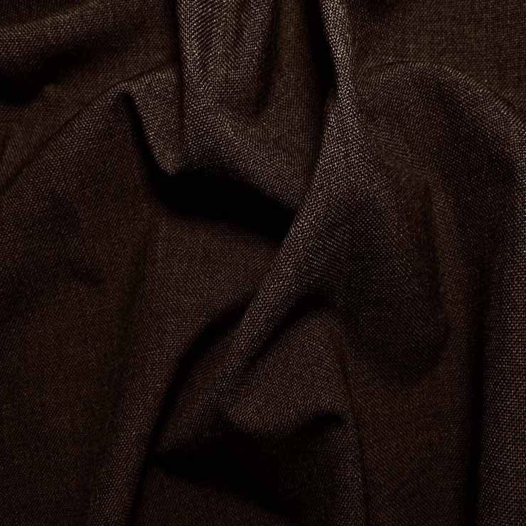 3 Ply Wool/Poly Blend Suiting 983 Brown - NY Fashion Center Fabrics