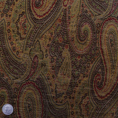 Cotton Paisley Velveteen AR105 - NY Fashion Center Fabrics