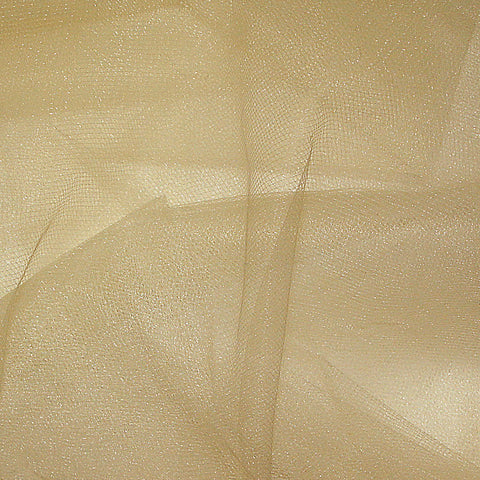 Nylon Tulle - 50 Yard Bolt Antique Gold