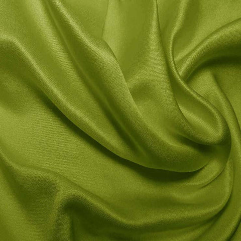 Silk Double Face Satin Apple Green