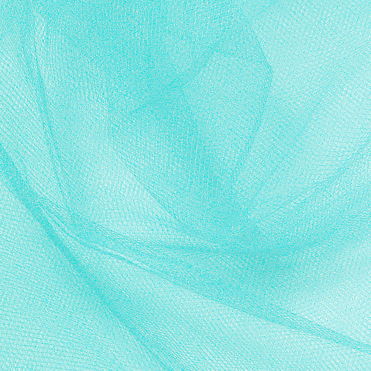 Nylon Tulle - 50 Yard Bolt Aqua
