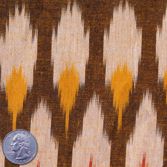 Cotton Ikat Autumn Earth - NY Fashion Center Fabrics