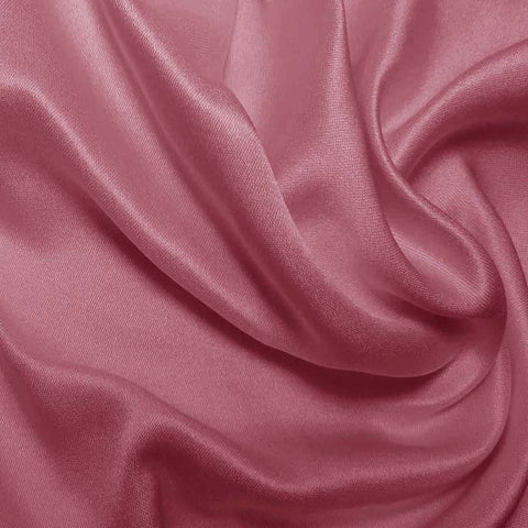 Silk Double Face Satin Azalea