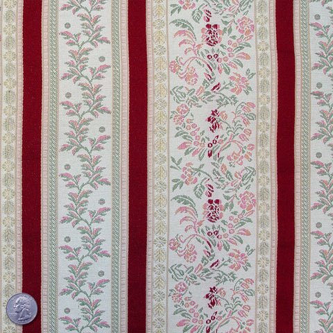 Cotton/Rayon Country Stripe Brocade BC65 - NY Fashion Center Fabrics
