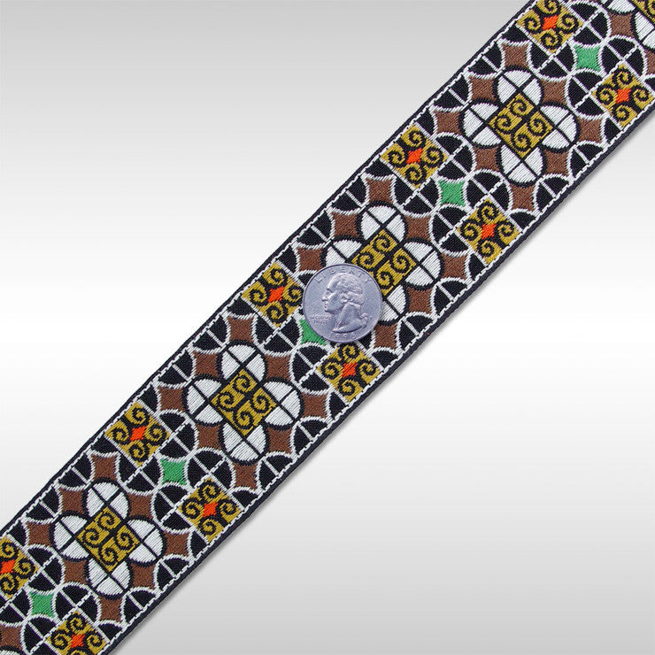 Jacquard Trim BR162 BR162 02 - NY Fashion Center Fabrics