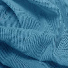 Nylon Powermesh Baby Blue - NY Fashion Center Fabrics