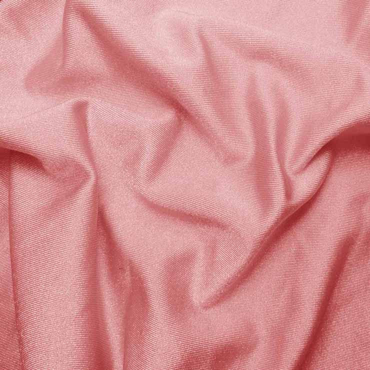 Solid Shiny Spandex Baby Pink