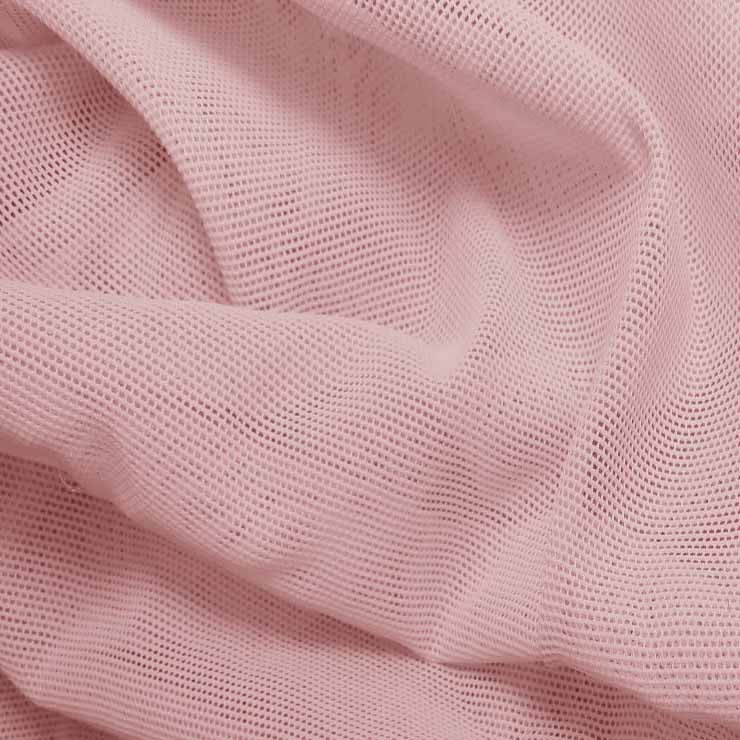 Nylon Powermesh Baby Pink - NY Fashion Center Fabrics